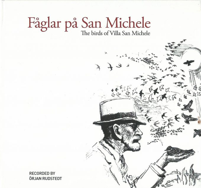 CD con el canto de los pájaros de la villa.
