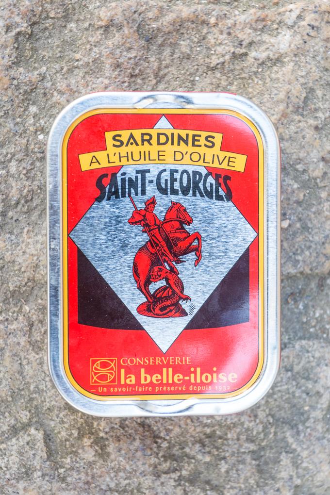 La sardinas de La Belle Iloise son espectaculares.