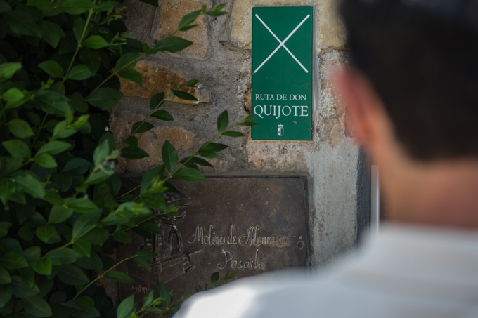 Puerta de acceso al MOLINO DE ALCUNEZA.
