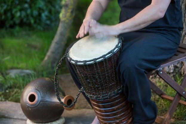 Percusión.