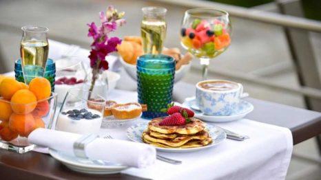 Desayuno de la Pousada Convento Arraiolos.