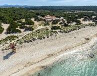 Nada como disfrutar de un espacio protegido. El restaurante y la mejor playa de Mallorca.