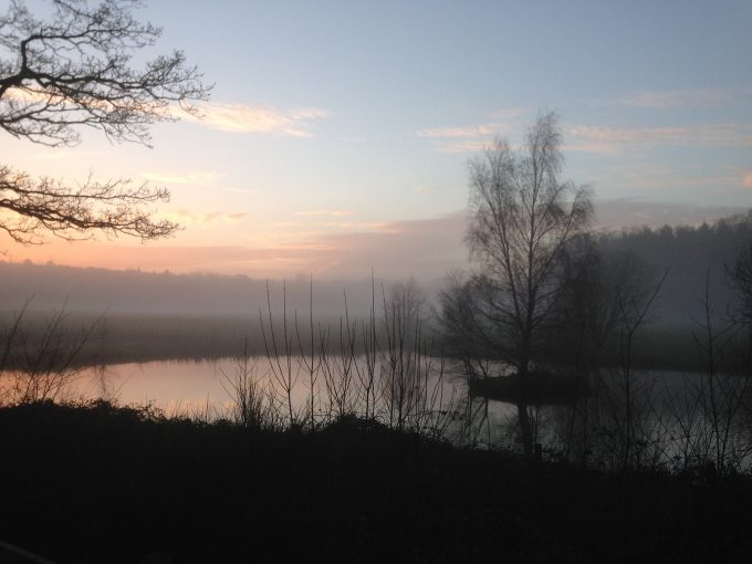 Vistas desde Woodlands Park.