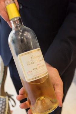 Sauternes, el vino dulce para acompañar mi postre.
