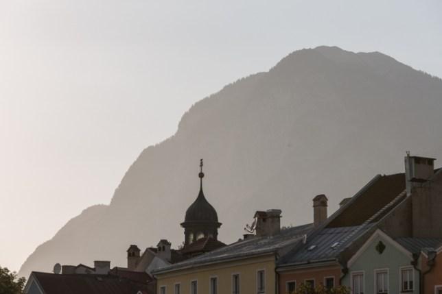 Ocaso en la Joya de los Alpes.