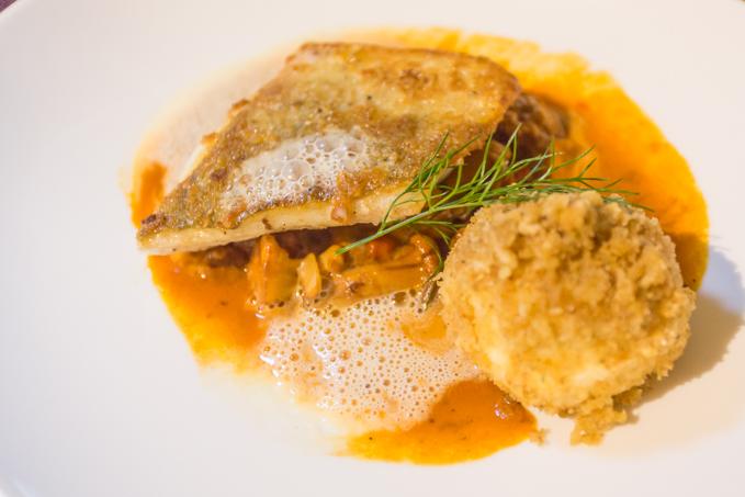 Otro de los fabulosos platos que me preparó la chef Elisabeth Geisler.