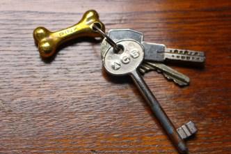 Las llaves de mi habitación en Roma, la Pink de Casa Howard.