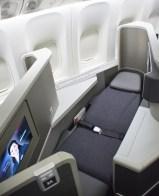 Cabina de Business Class 700 200. Foto: American Airlines.