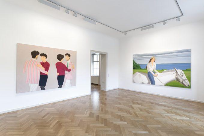 """Foto de la muestra """"45 years of portraits"""" realizada en el 2014."""