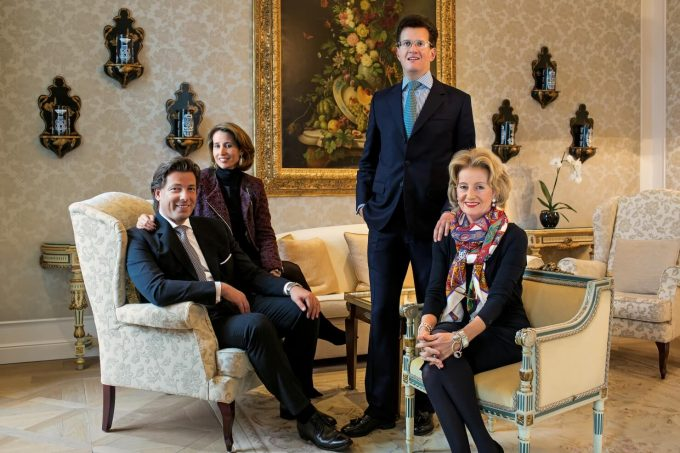 Familia propietaria de los hoteles Sacher.