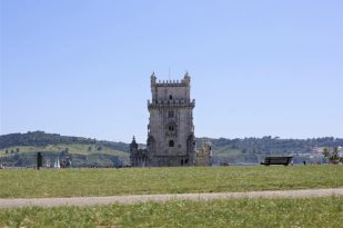 Torre de Belém, símbolo de Lisboa.