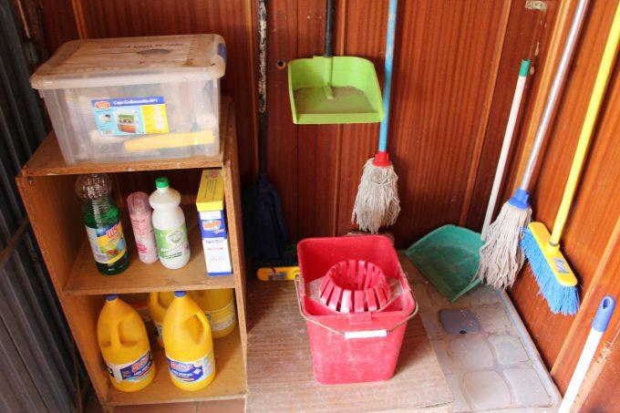 Elementos de limpieza.