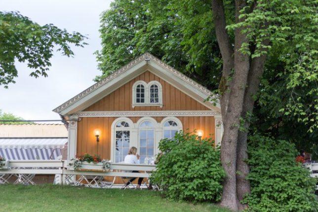 Herregårdskroen está lleno de encanto.