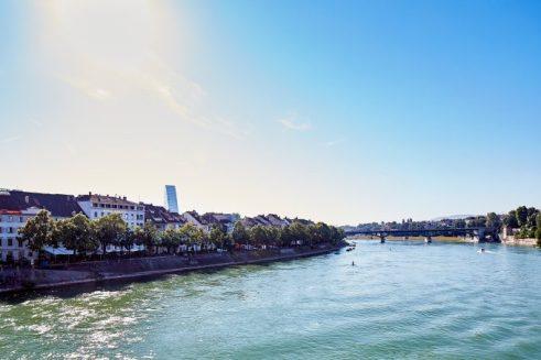 Vistas del río desde el Krafft. Foto: Mark Niedermann