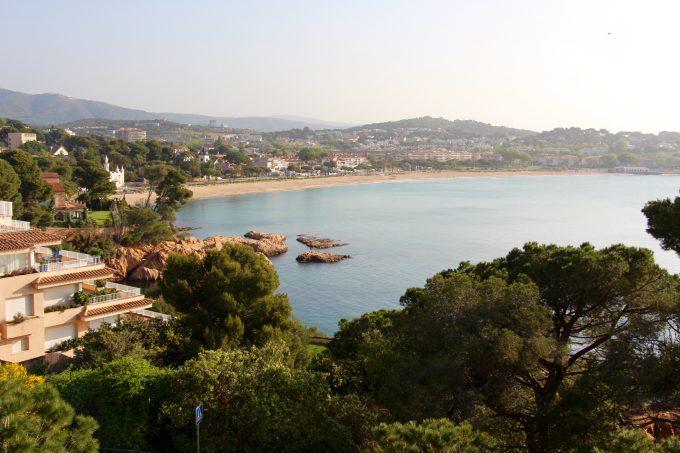 Playa de Sant Pol.