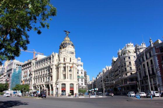 Edificio Metrópoli, calle Alcalá y Gran Vía.