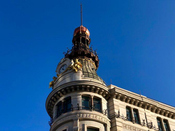 Cúpulas de la calle de Alcalá.