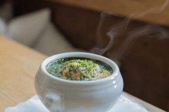 Típica sopa austriaca.