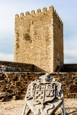 Alcázar musulmán de Mértola.