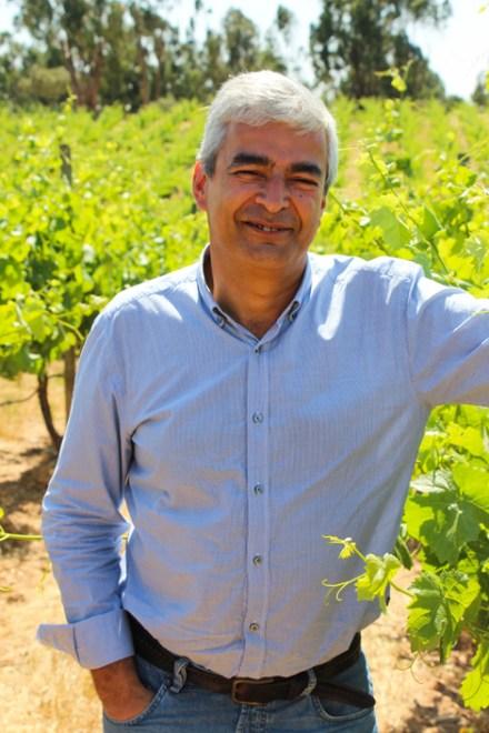 Luis Duarte, enólogo de Herdade dos Grous.