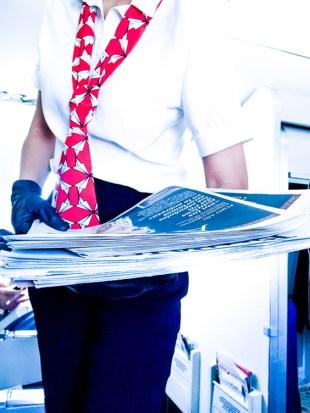 Prensa diaria en Business de Air Nostrum.
