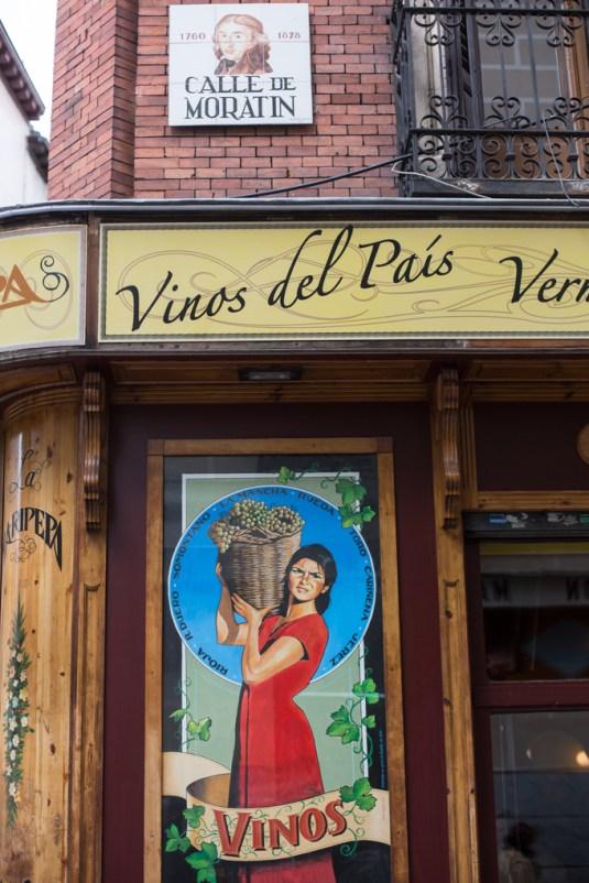 Paseando por el barrio de Las Letras.