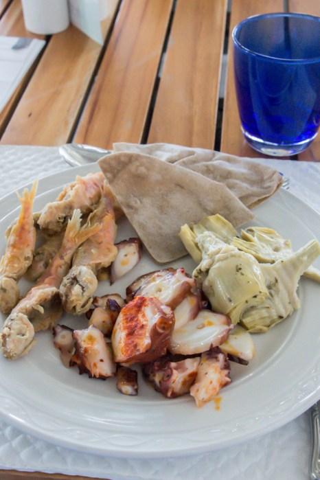 Mi selección del buffet Sea Grill.
