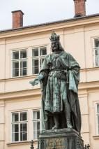 Carlos IV, Praga le debe su gloria.