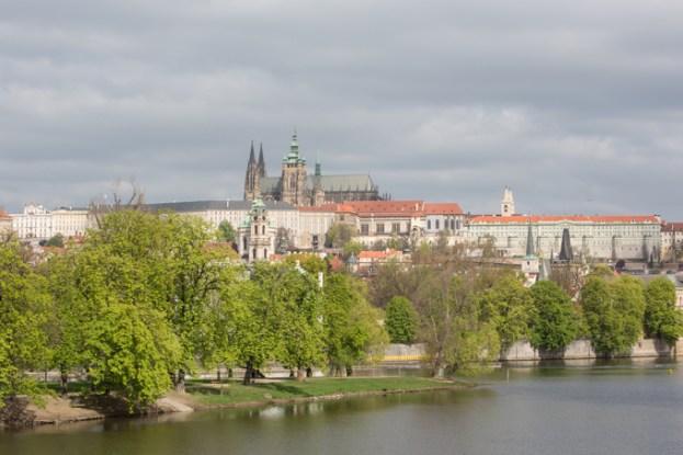 El Castillo de Praga.