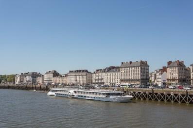 Vistas de Nantes regresando de Les Machines.