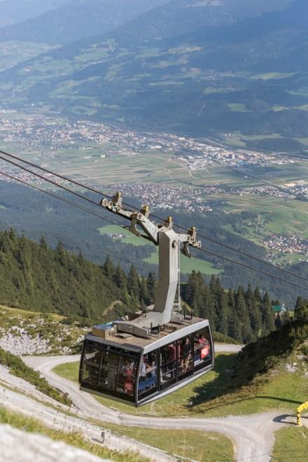Funicular Hungerburgbahn.