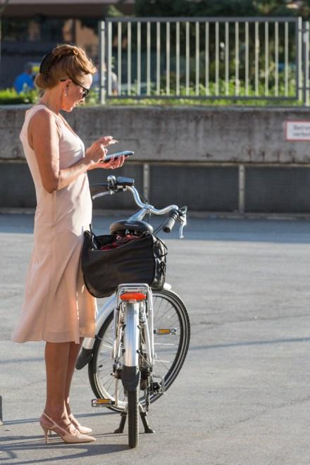 El uso de la bicicleta está muy promulgado.
