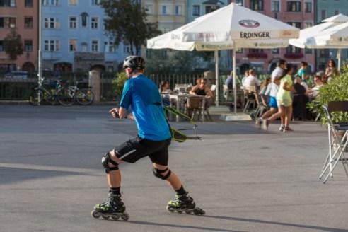 El deporte reina en todos los rincones de la ciudad.