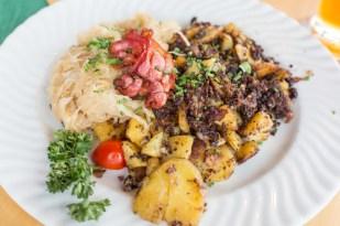 Otro de los platos típicos de la cocina tirolesa.