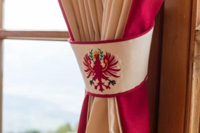 El escudo de Austria.