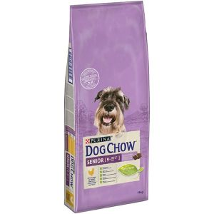 DOG CHOW Senior Frango 14kg
