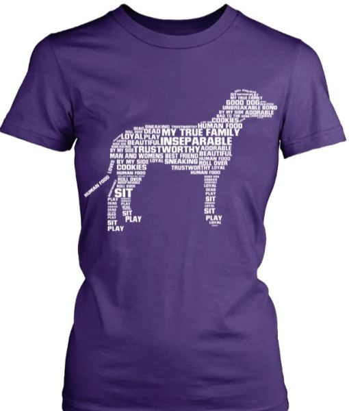 Dog Of Many Words Shirt