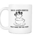 Dogs And Coffee Mug