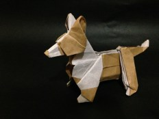 Origami Dog by Steven Casey