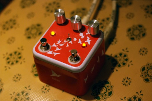 DIY Klon Centaur pedal with mods