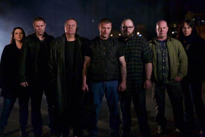 The cast of The Demon Files.