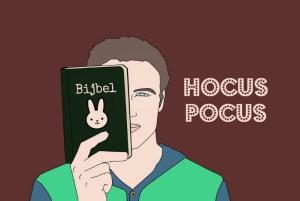 de magische bijbel van meneer X