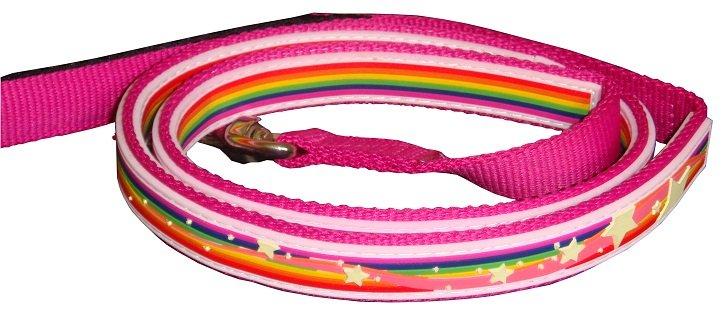 Gummi Leads - Pink Rainbow