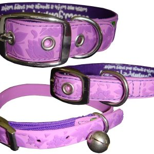 Gummi Collars - Purple Floral