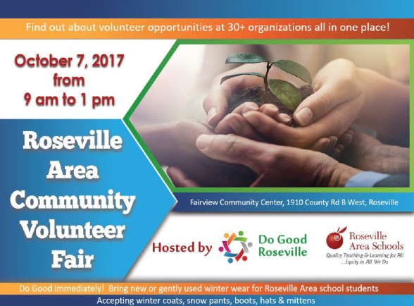 Roseville Volunteer Fair Notice v2