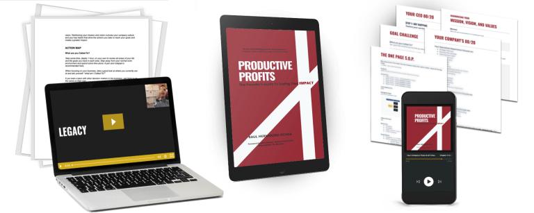 Productive Profits Book Bundle