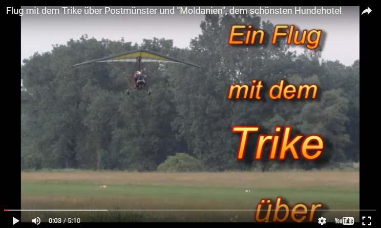 Video-Trikeflug Seehotel Moldan