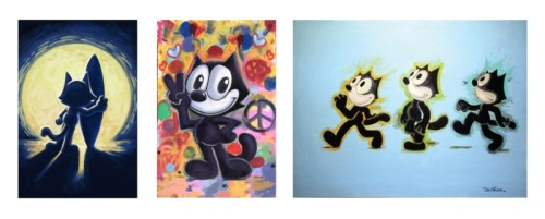 Exclusive Felix the Cat Fine Artwork from Don Oriolo Coming Soon from Soho Prints (PRNewsFoto/Soho Art International/Soho Prin)