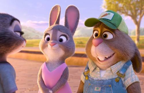 """Bonnie Hunt provides the voice of Bonnie Hopps. Judy's mother. Don Lake voices Judy's father, Stu Hopps, a carrot farmer from Bunnyburrow. (Disney)"""