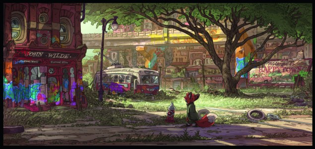 Art of Zootopia_Happy Town_61 copy